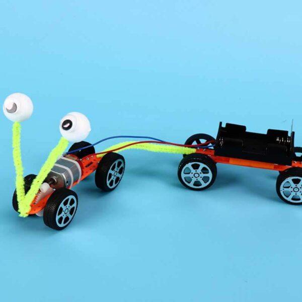 Creative Electric Gear Car