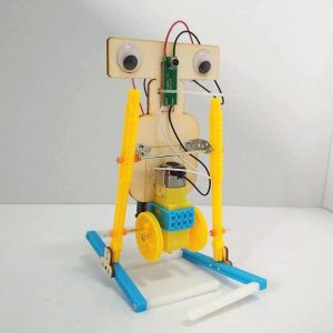 Voice Control Electric Walking Robot Construction Set