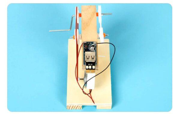 DIY Hand Crank Generator