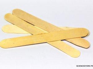 20 Pcs Wooden Popsicle Sticks