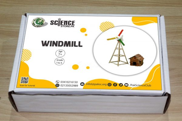 science project wind mill