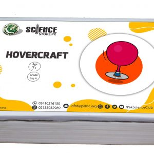 Science Exhibition project Hovercraft in Pakistan