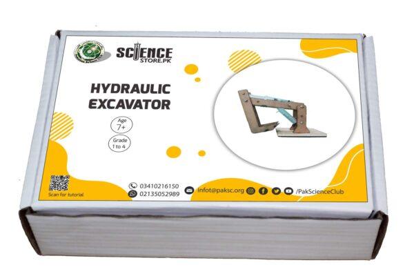 Science Fair Project Hydraulic Excavator
