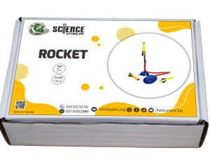 Air powered rocket and launcher in Pakistan