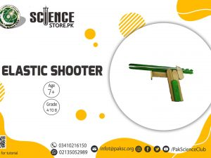 Science fair project Elastic Shooter