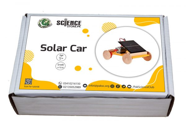 science Exhibition project Solar Powered Car in Pakistan
