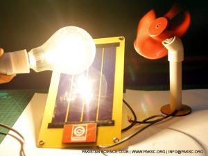 Solar Powered Fan Science Project Kit