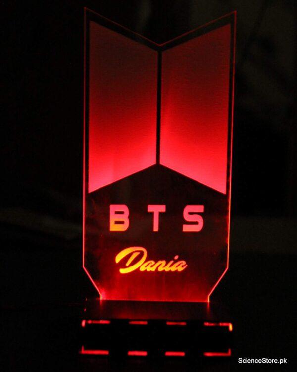 3D lamp BTS