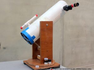 homemade DIY Astronomical telescope