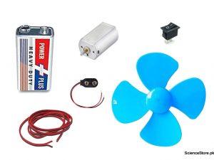 dc motor fan kit